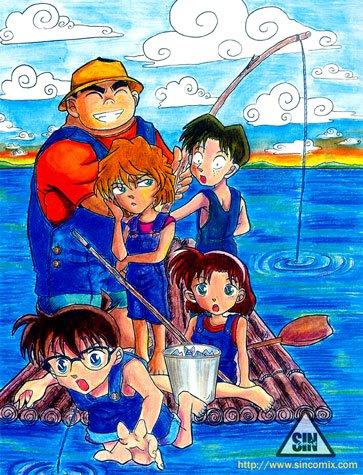 Fan art Conan  [Chôm chôm  ] - Page 3 KenhSinhVien-294209-205750699490920-63992138-n
