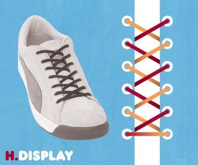 Những cách buộc dây giày nhanh và thông dụng